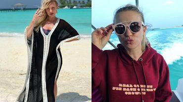 Fani zachwyceni Barbarą Kurdej-Szatan w bikini. Gdzie poleciała?