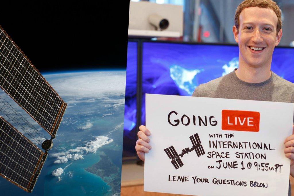 Mark Zuckerberg zaprasza na pokład ISS
