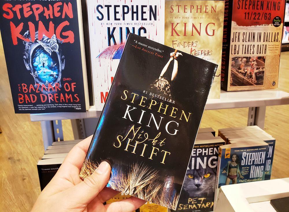 Stephen King: książki. Zdjęcie ilustracyjne