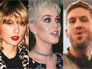 Taylor Swift, Katy Perry, Calvin Harris