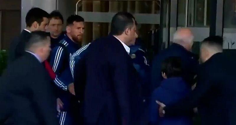 Messi po meczu Urugwaj - Argentyna