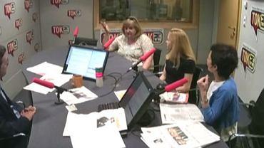 Jan Wróbel i komentatorki: Eliza Olczyk, Agnieszka Gielewska, Renata Kim
