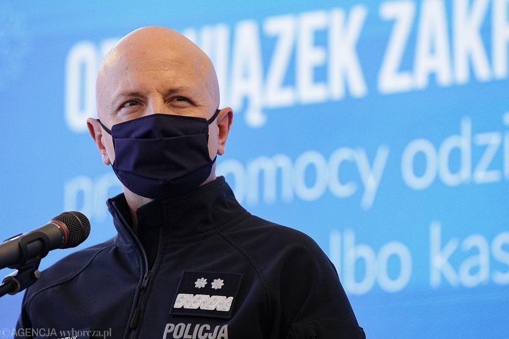 Jarosław Szymczyk pozostanie komendantem głównym policji