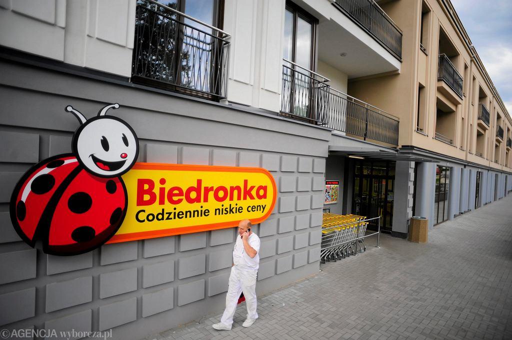 Sklep Biedronka w Warszawie