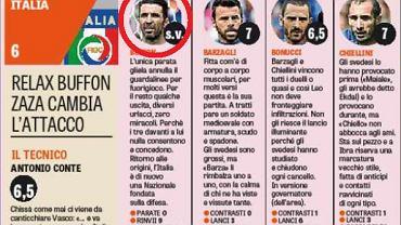 """""""GdS"""" nie przyznało oceny Buffonowi"""