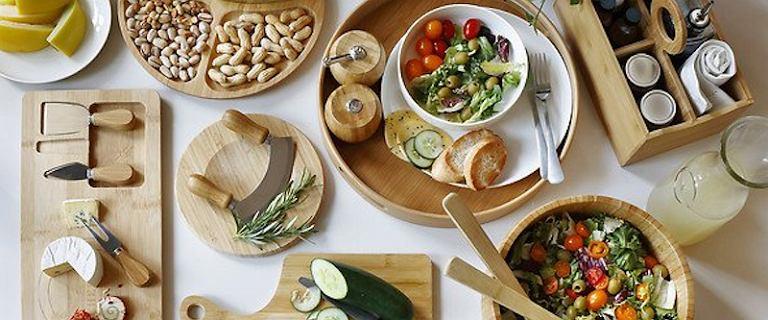 Ekologiczny dom: drewno, rattan, bambus, stal, ceramika