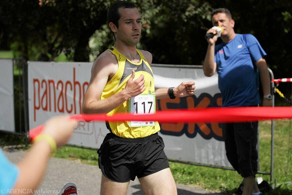 Drugi w 2016 roku bieg z cyklu 'Olsztyn Biega!' w parku Kusocińskiego