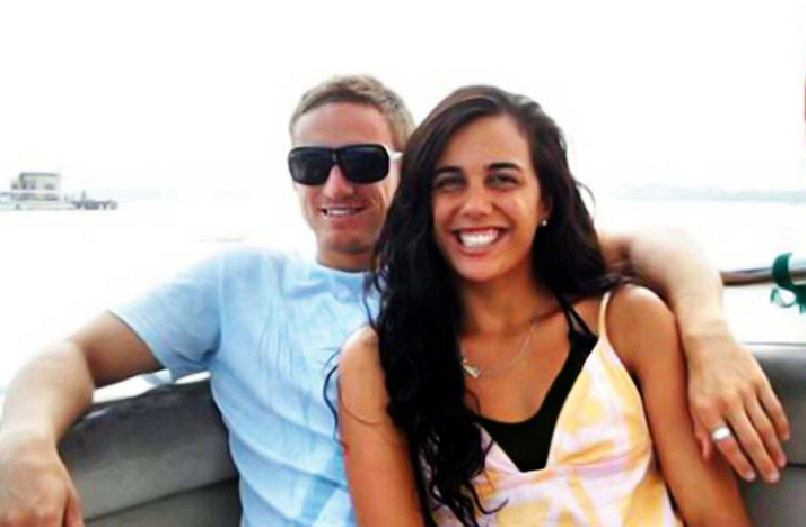 Turia Pitt i Michael Hoskin