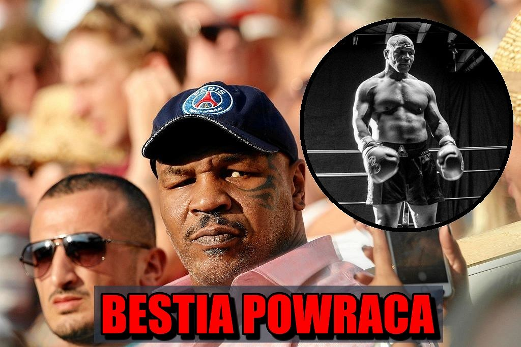Mike Tyson wraca na ring
