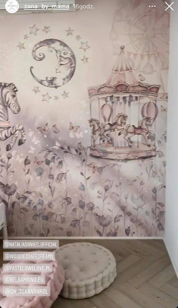 Natalia Siwiec pokazała pokój córki