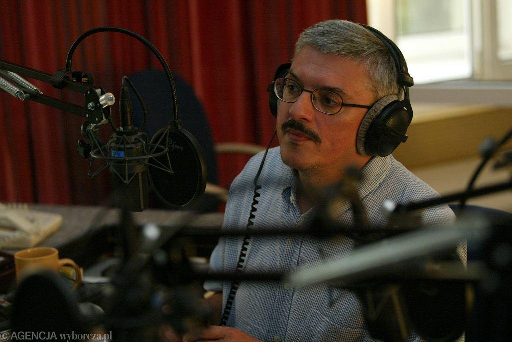 Marek Niedźwiecki (fot. Wojciech Olkuśnik / Agencja Gazeta)