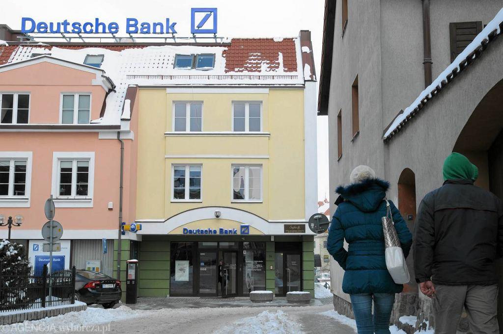 Placówka Deutche Banku w Olsztynie