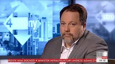 """Marcin Celiński w programie """"Cztery strony"""""""