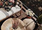 Pufy plecione - wygodne siedzisko, które ociepli aranżację