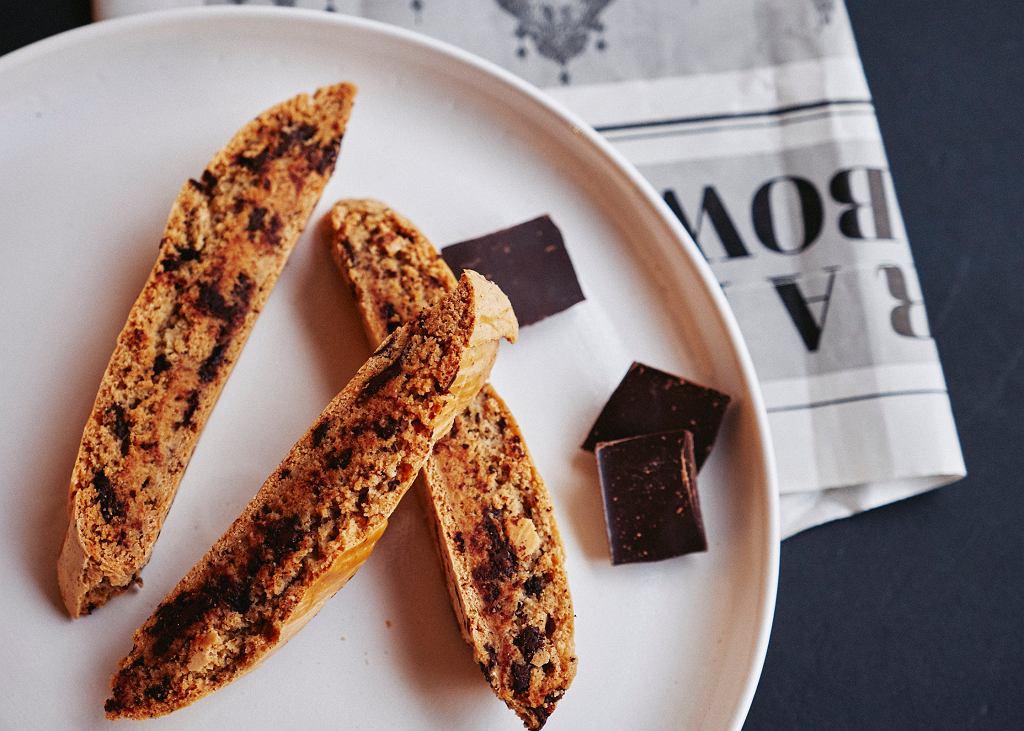 Cantucci al cioccolato, czyli toskańska specjalność z czekoladą. Warsztaty w Akademii Kulinarnej Whirlpool, grudzień 2019