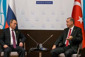 Putin godzi się z Erdoganem
