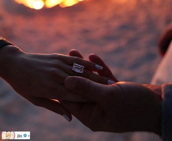 Jennifer Lopez zaręczyny