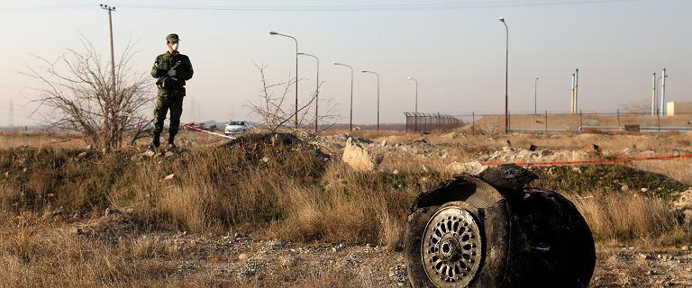 Gwardia Rewolucyjna Iranu winna zestrzelenia ukraińskiego samolotu