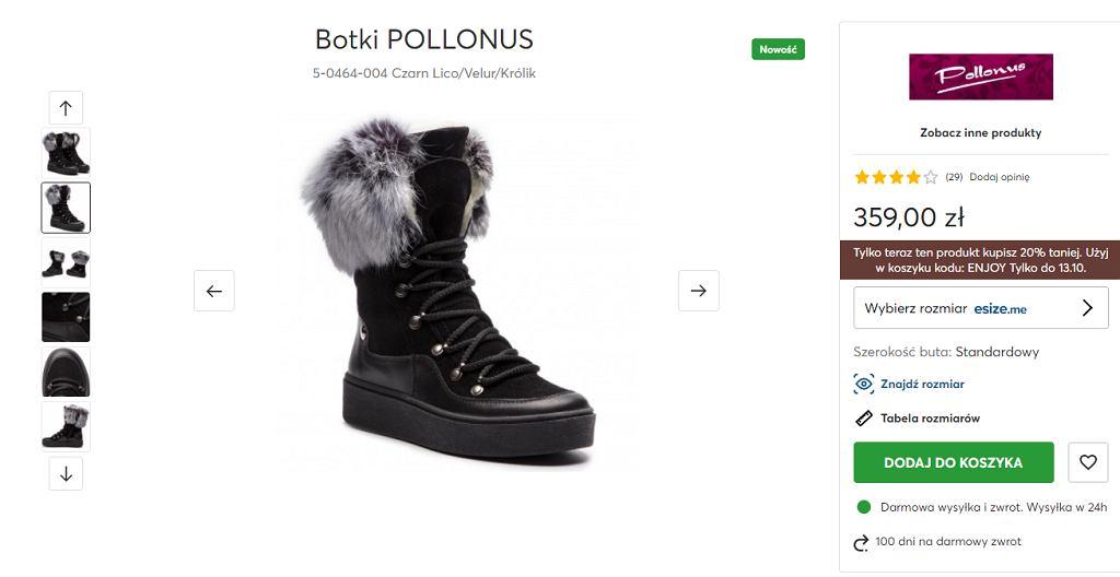 Botki eobuwie Pollonus