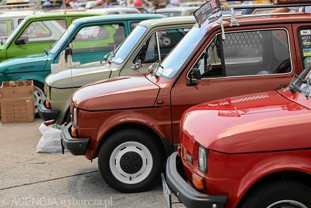 V Spot Okolicznościowy na Bemowie z okazji 45. urodzin Fiata 126p