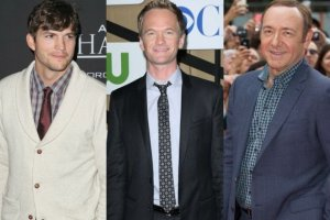 Ashton Kutcher, Neil Patrick Harris i Kevin Spacey