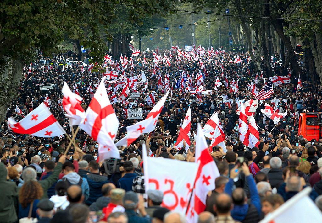 Manifestacja w Tbilisi