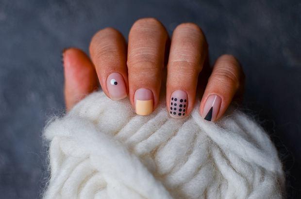 paznokcie geometryczne