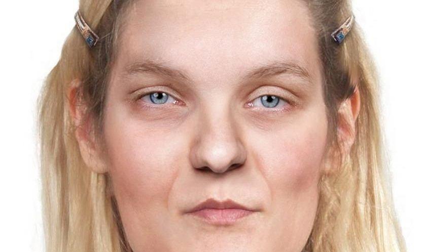 Rekonstrukcja wizerunku kobiety, której ciało znaleziono w 2017 roku na Pradze Południe