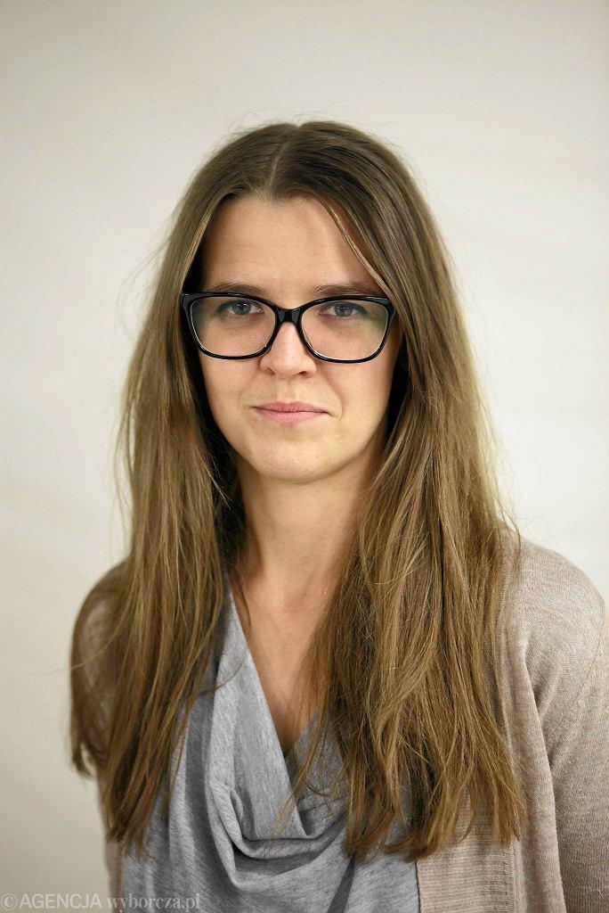 / Joanna Stankiewicz . Dyrektor festiwalu ' No women no art '. Fot. Lukasz Cynalewski / Agencja Gazeta