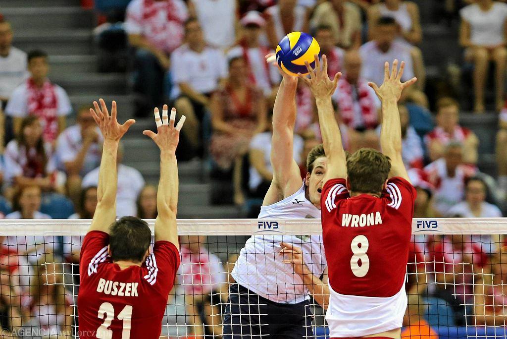 Liga Światowa. Polska - USA 1:3