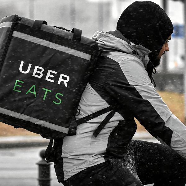 Kurier Uber Eats