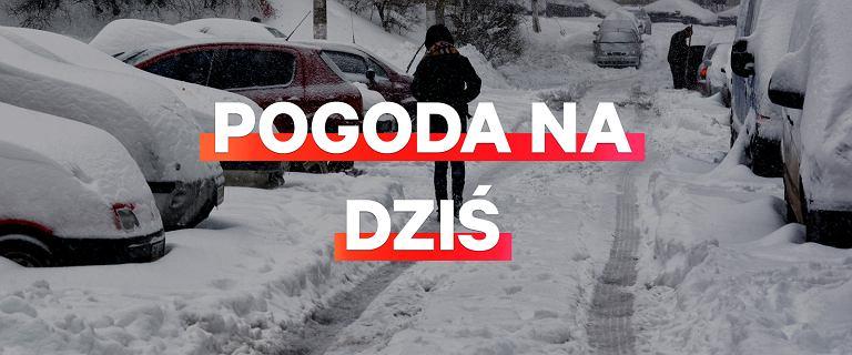 Pogoda na dziś - 25 stycznia. Ostrzeżenia IMGW - śnieg i oblodzenie
