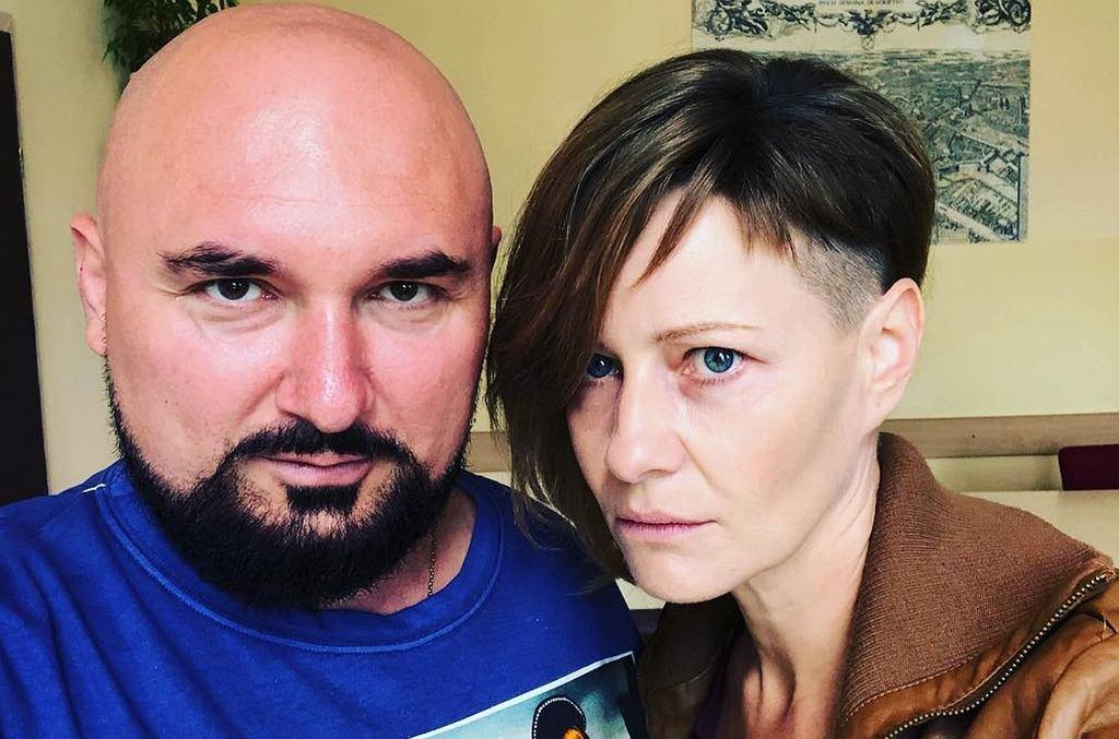 Małgorzata Kożuchowska i Patryk Vega
