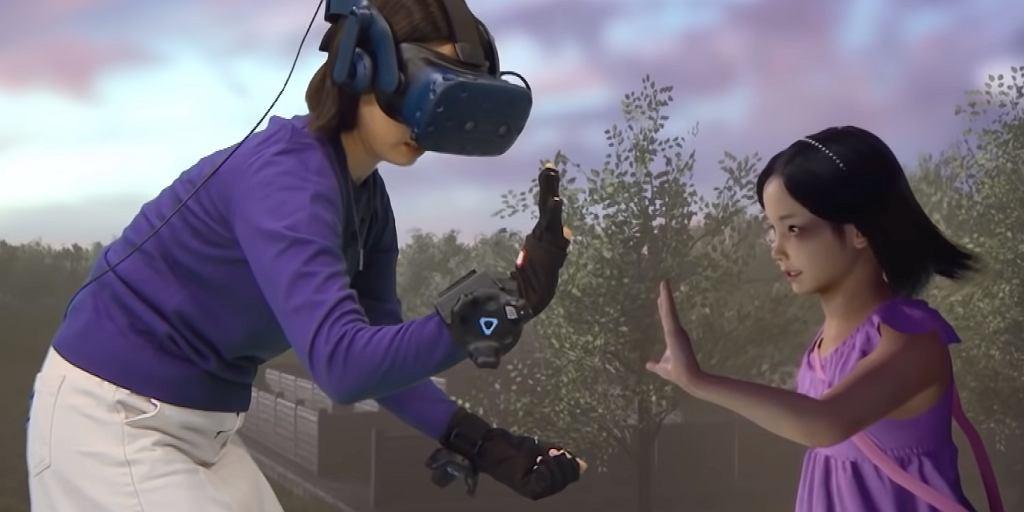 Jang Ji-sun spotyka swoją córkę Nayeon w wirtualnej rzeczywistości