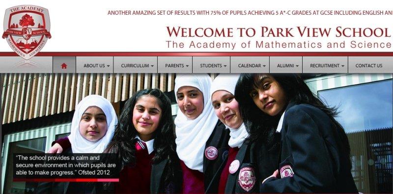 Park View - jedna ze szkół, które - jak wynika z raportu - faworyzuje uczniów wyznających islam