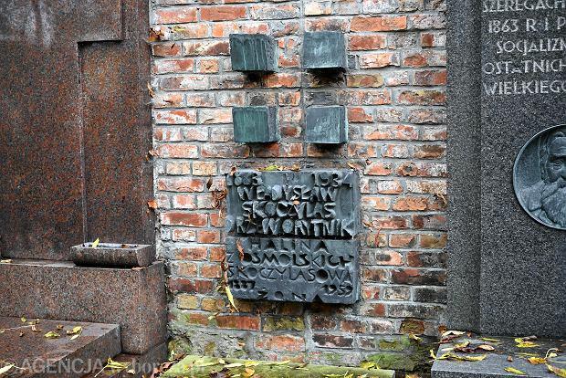 Zdjęcie numer 14 w galerii - Wszystkich Świętych. Tu spoczywa Władysław Reymont i Wojciech Młynarski. Groby w Alei Zasłużonych na Starych Powązkach [ZDJĘCIA]