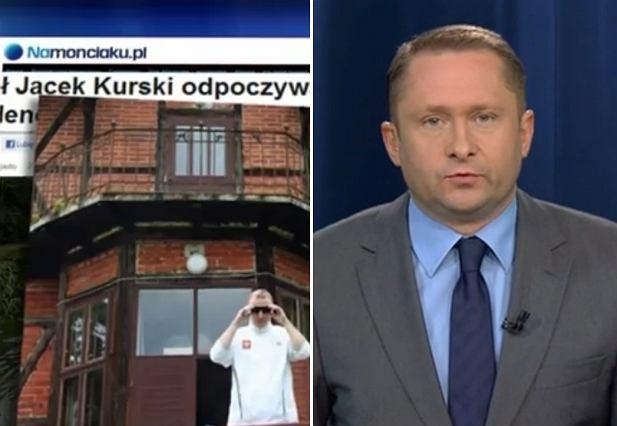 Kamil Durczok opowiada o Jacku Kurskim i jego leśniczówce