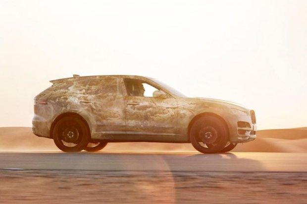 Jaguar F-Pace w ekstremalnych warunkach