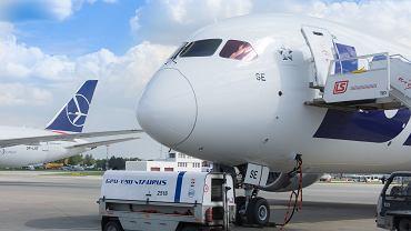 1 maja 2019. Na Okęciu wylądował najnowszy Dreamliner należący do LOT