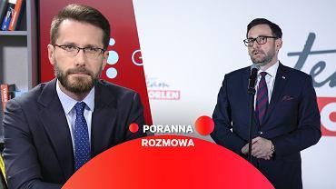 Radosław Fogiel w Porannej Rozmowie Gazeta.pl