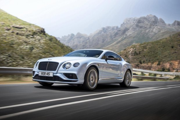 Bentley Continental po faceliftingu