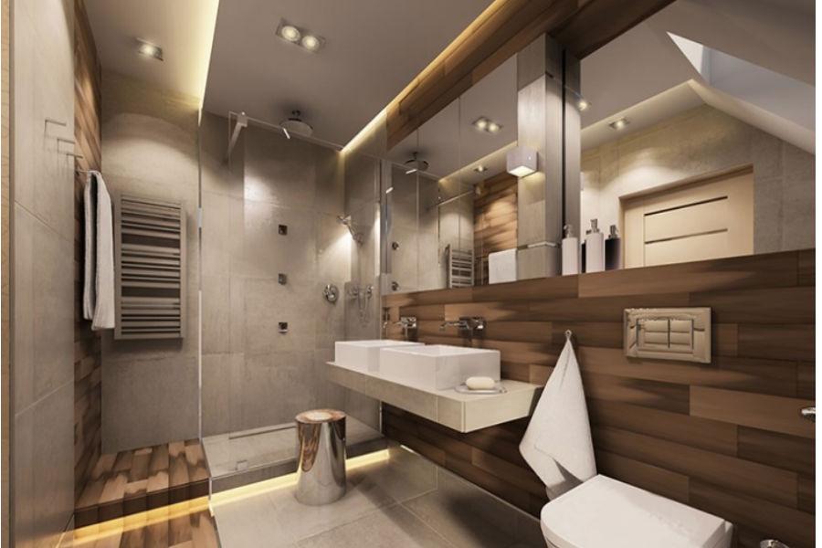 Nastrojowe oświetlenie łazienkowe