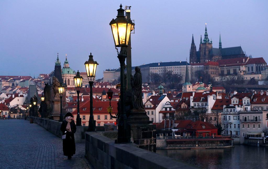Praga w czasie pandemii.