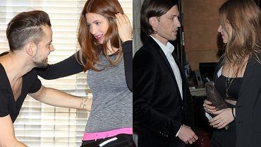 Ada Fijał z partnerem z 'TzG', Krzysztofem Hulbojem o raz z mężem, Piotrem
