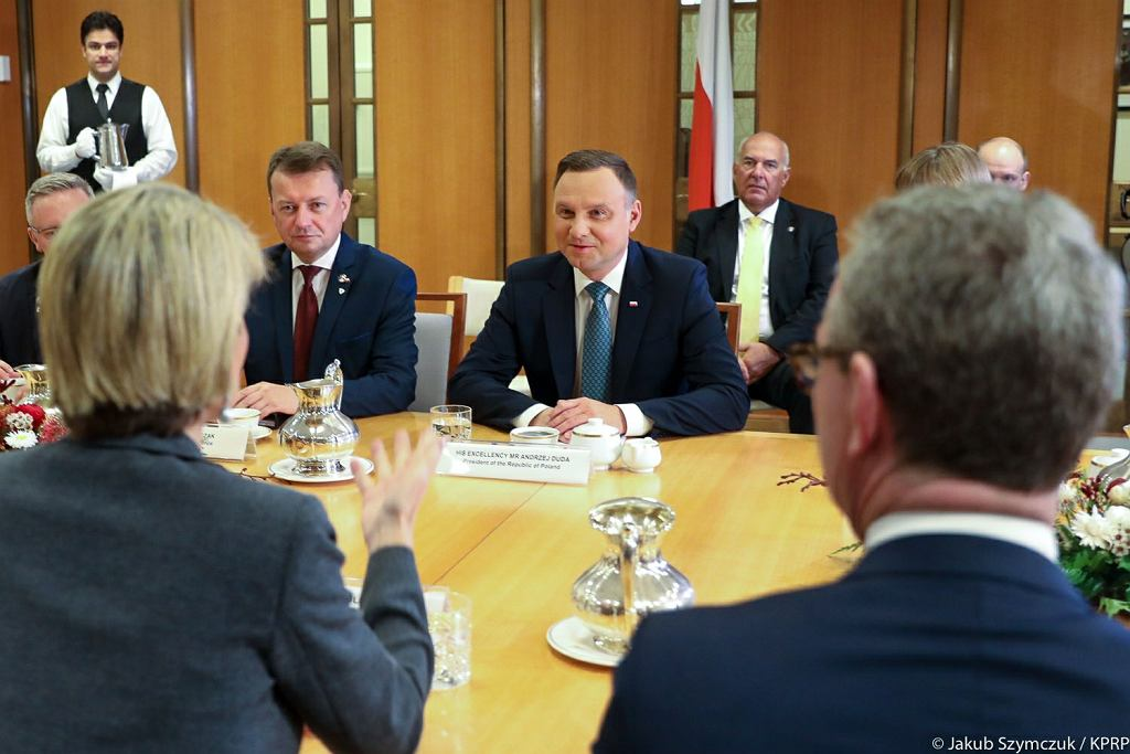 Rozmowy bilateralne między Polską a Australią z udziałem prezydenta Andrzeja Dudy i bez premiera Australii Malcolma Turnbulla
