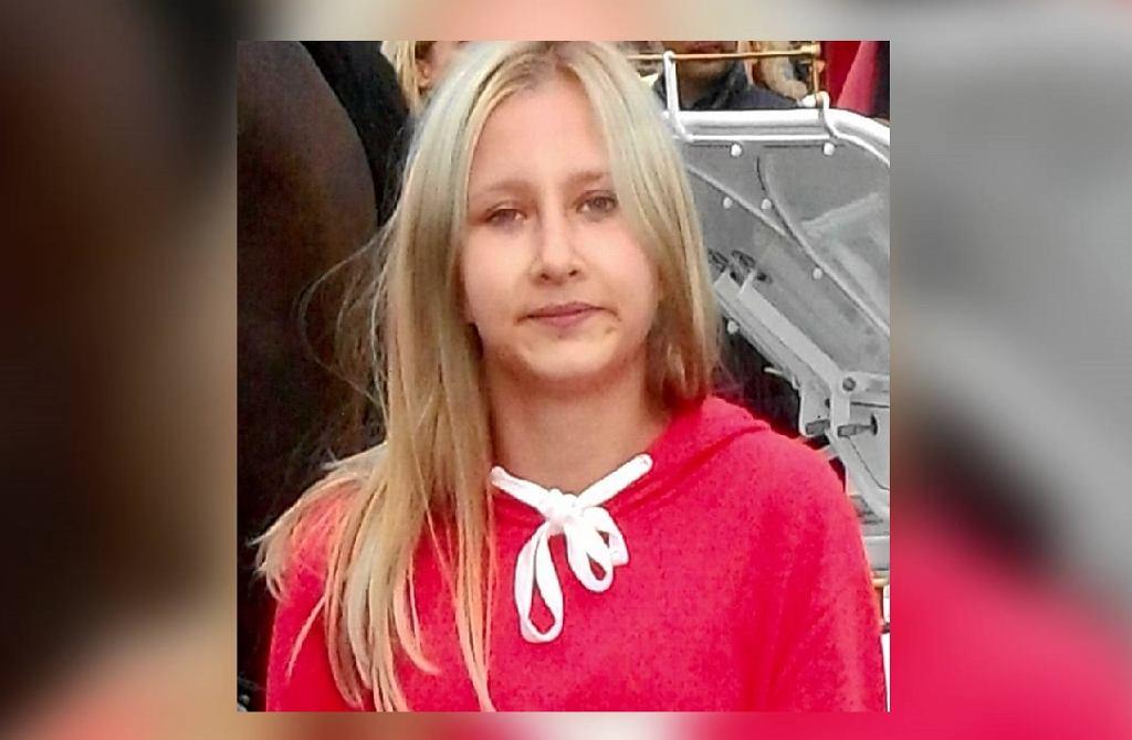 Zaginiona 14-letnia Natalia Gontarz.