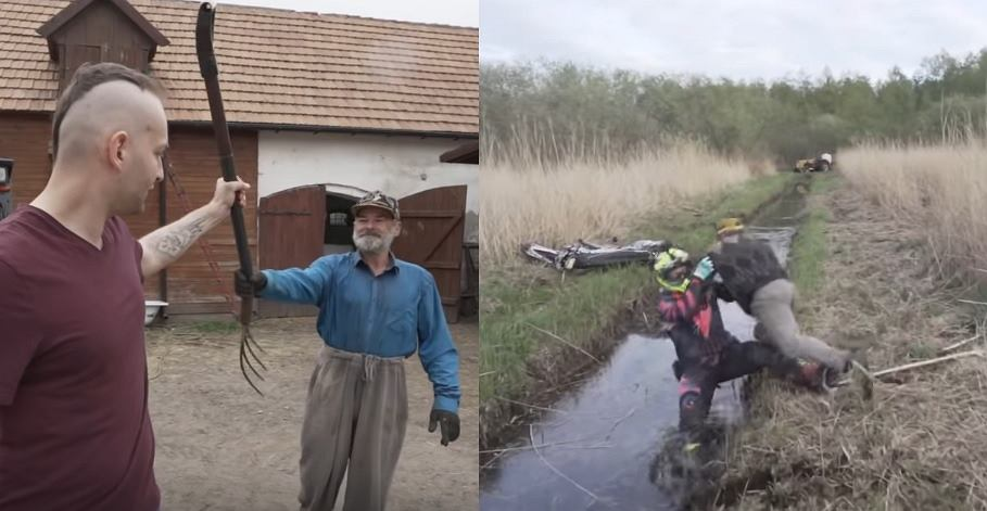 Artur Puzio tłumaczy, że film z rolnikiem to była ustawka