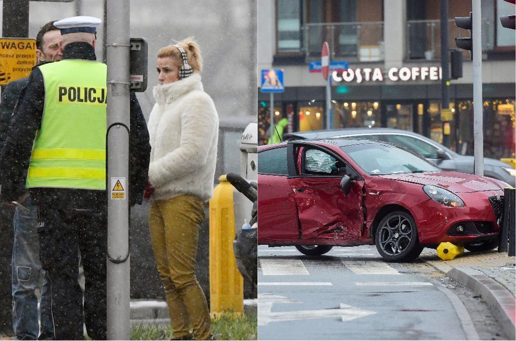 Wypadek Joanny Brodzik