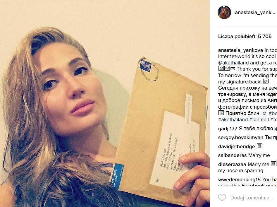 Anastasia Yankova - zawodniczka MMA