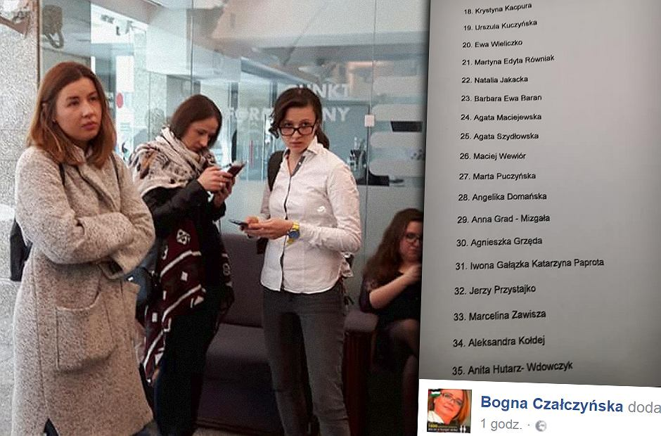 Kobiety z Koalicji Mam Prawo nie zostały wpuszczone do Sejmu